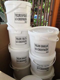 Tricloro Polvo 5kg, Concentración 90% Pandapura