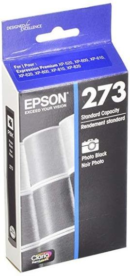 Genuine Epson 273 Pbk Photo Black Solo En La Bolsa Sellada