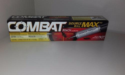 Combat Gel 60g Mata Chiripas Y Cucarachas Importado Original