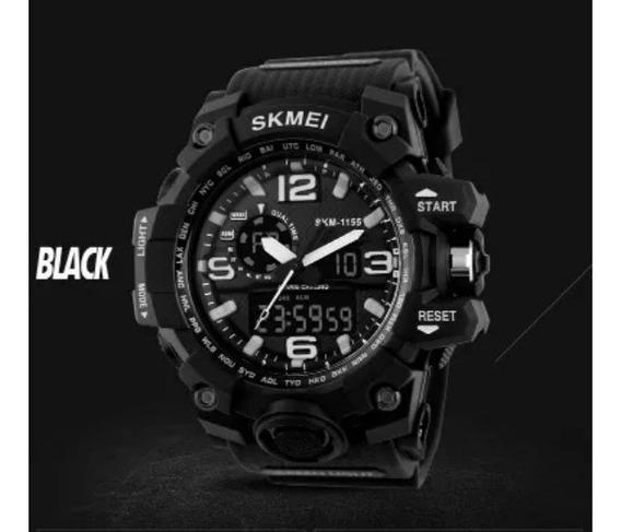 Skmei 1155 Relógio Masculino Esportivo Prova D Água Original