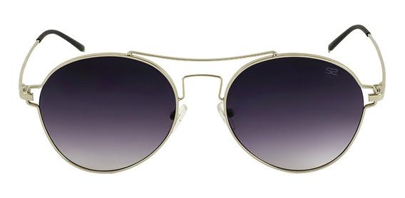 Óculos De Sol Feminino Sabrina Sato - Redondo Polarizado