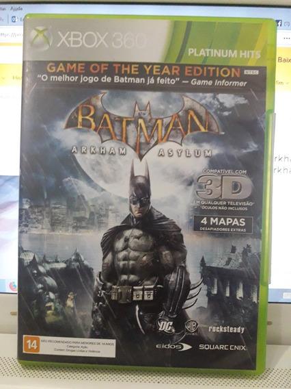 Batman Arkham Asylum Xbox 360 Original (usado)