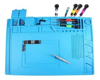 Kit Manutenção Eletrônica 04 Itens Ferramenta Cel12 + Manta S160 + Par Luvas E Escova Antiestática Super Preço