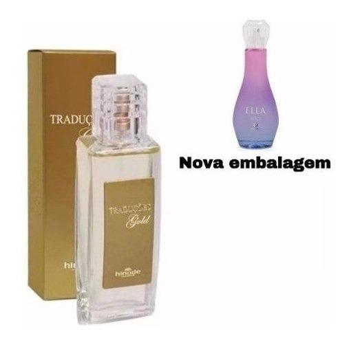 Perfume Original Traduções Gold Nº10 Nova Embalagem Hinode