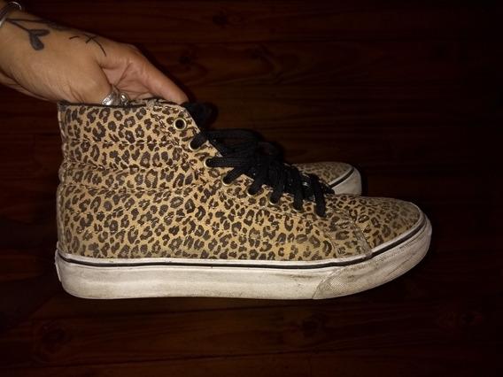 Zapatillas Vans Leopardo Unicas Skater