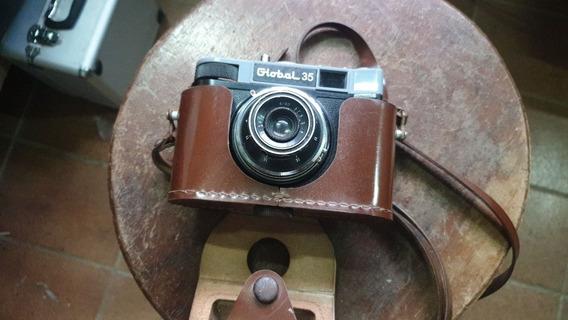 Máquina Fotográfica Antiga Global 35