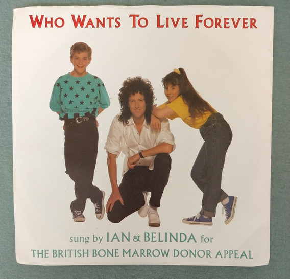 Raro Lp 7 Brian May Ian E Belinda Who Wants To Live Forever