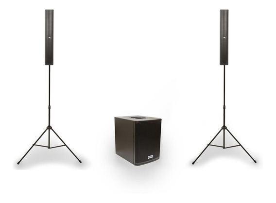 Sistema Vertical Array Dbr - Dva1200 700wrms Bluetooth