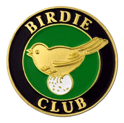 Pinmart Birdie Club Golf Golfing Enamel Lapel Pin