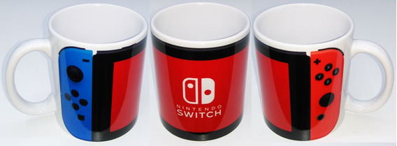 Caneca Nintendo Switch