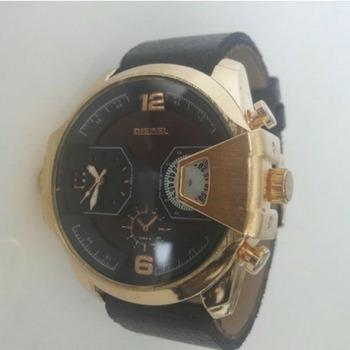 Relógio Militar Masculino Esportivo Pulseira Couro