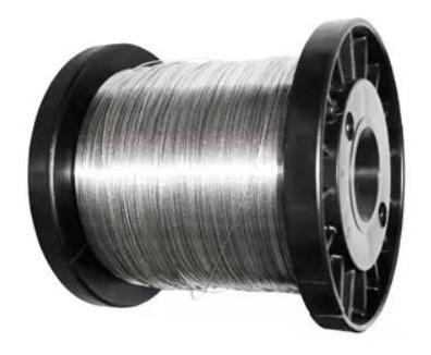 Bobina Fio Inox 0.45mm\400m Para Cerca Elétrica
