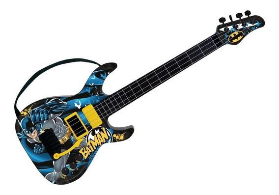 Guitarra Batman Menino Brinquedo Musical - Fun