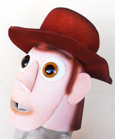 Wood Cowboy Toy Story Chapéu Em Espuma
