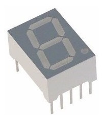 Display 7 Segmentos Vermelho P/ Microcontrolador Pic Atmel