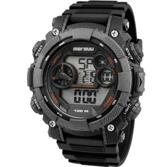 Relógio Masculino Mormaii Esportivo Mo12579b/8y - Grafite