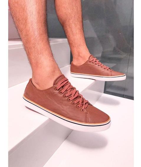 Tênis Marrom Coca Cola Shoes Pacific Castor Masculino