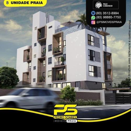 Apartamento Com 2 Dormitórios À Venda, 55 M² Por R$ 279.000 - Bancários - João Pessoa/pb - Ap4803