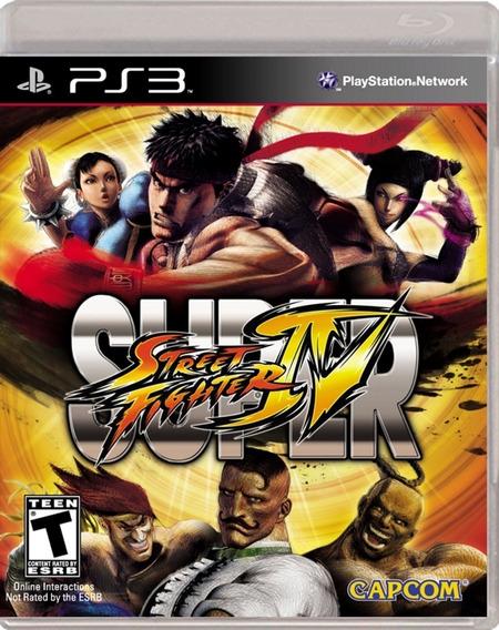 Jogo Super Street Fighter Iv Mídia Física Ps3