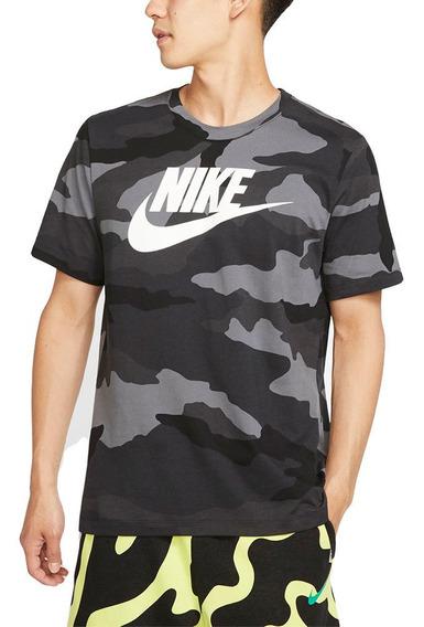 Remera Nike Camo 1 Hombre Tienda Oficial Nike