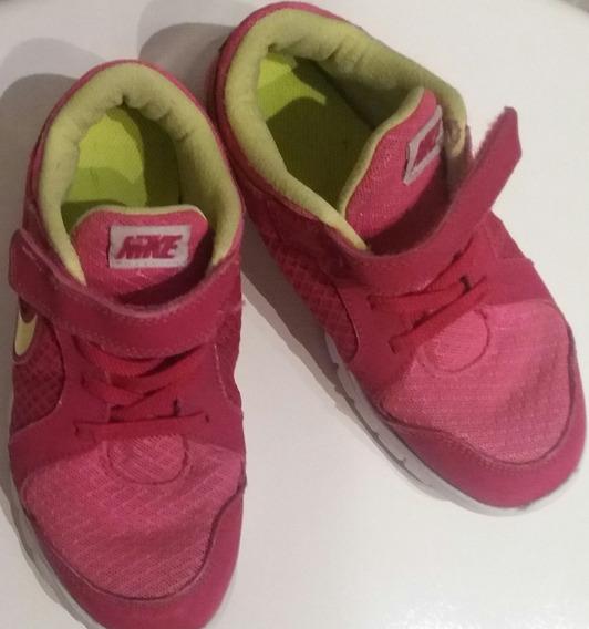 Zapatillas Niñas Nº 30 Nike, Estado Muy Bueno !