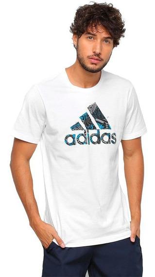 Camiseta adidas Mh Bos Graphic Branca