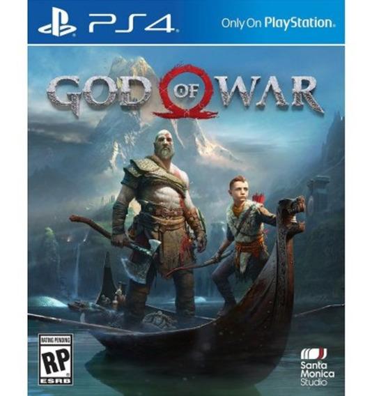 God Of War Ps4 Mídia Física Novo Lacrado Caixa De Papelão