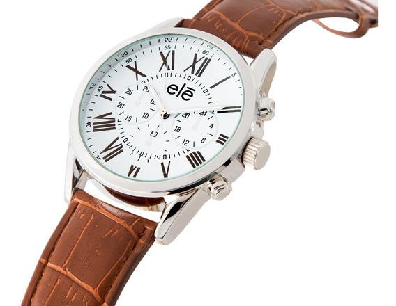 Reloj,relojes Moda Hombre Mujer Casual, Ele 1007-c