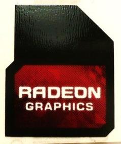 Adesivo Original Radeon Graphics