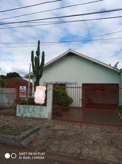 Casa Com 3 Dormitórios À Venda, 190 M² Por R$ 280.000 - Califórnia - Londrina/pr - Ca1274