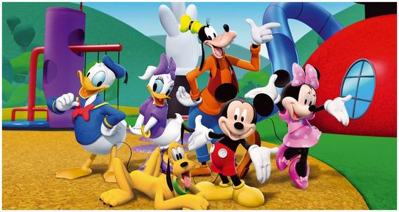 Poster De Lona (42x79cm) La Casa De Mickey Mouse