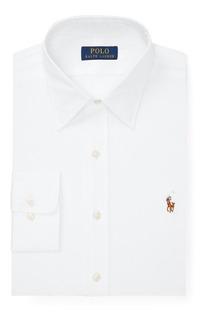 Camisa Social Polo Ralph Lauren Tamanho Gg Xl Classic Fit