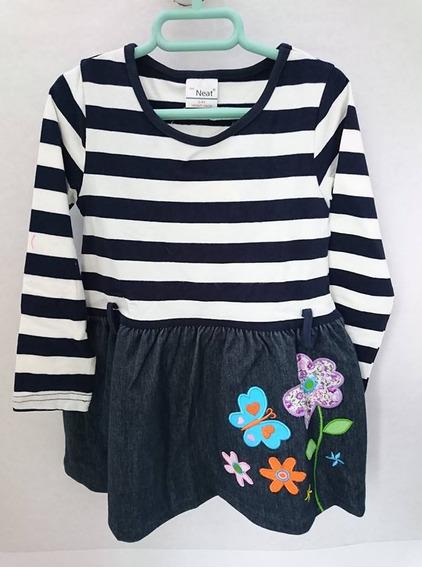 Vestido Para Niña Talla 3 Y 4
