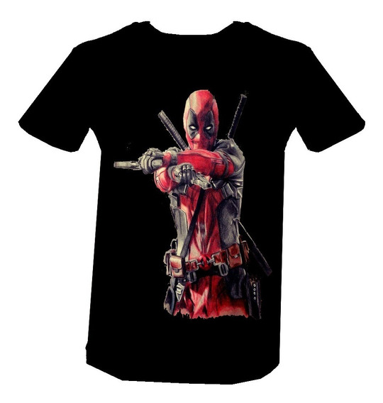 Playera Deadpool Diseños Marvel Superheroes Algodon 8 Beloma