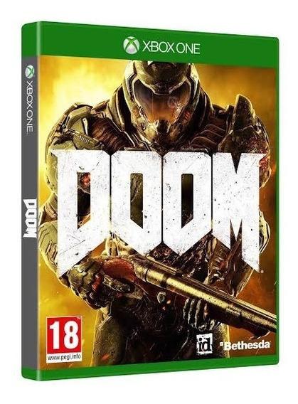 Doom Xbox One Mídia Física