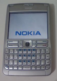 Celular Nokia E62-1 E-series Prata Gsm - Raridade