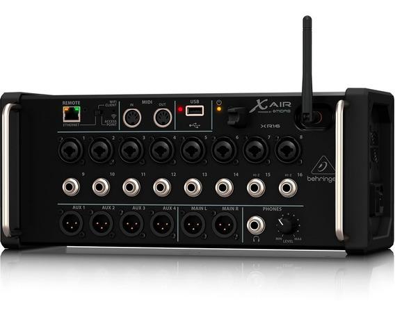 Mesa De Som Behringer X Air Xr16 Xr 16 Mixer Wifi Usb Midi
