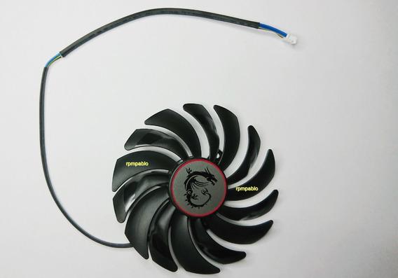 Cooler Placa D Video Dist Parafusos 40mm Diametro 95mm 4fios