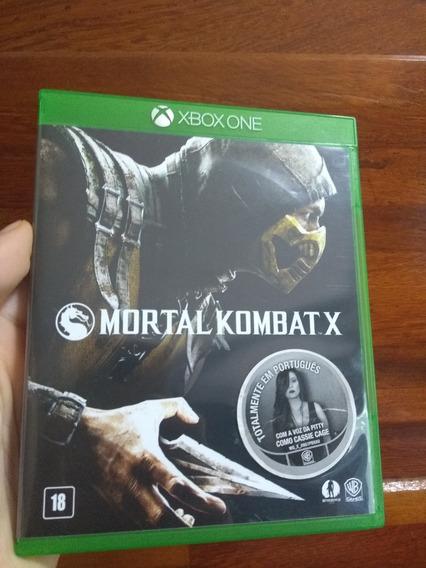 Mortal Kombat X - Xbox One Mídia Física Excelente Estado
