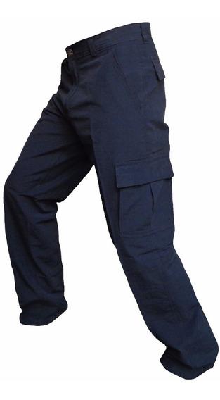 Pantalon Cargo Pesca Bolsillo Secado Rapido Trekking Hombre