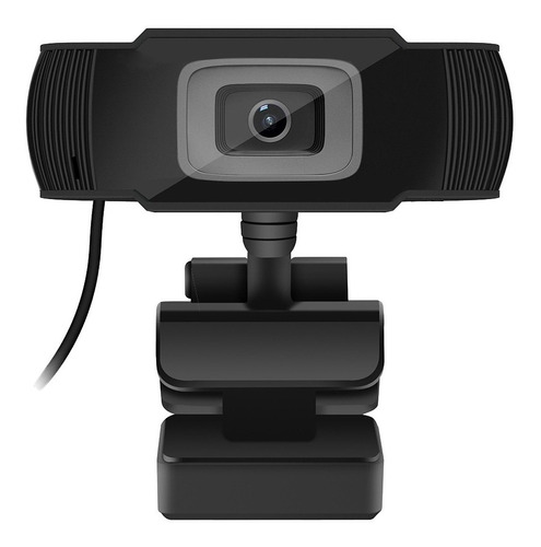Imagen 1 de 4 de Webcam 1080p Hd Camara Web Usb Con Microfono Zoom Meet Pc