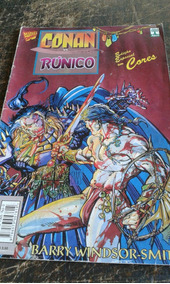 Conan X Runico/ Hq/ Frete Grátis