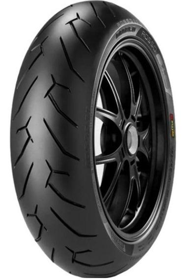 Pneu Cb250 Twister 140/70r17 Tl 66h Diablo Rosso Ii Pirelli