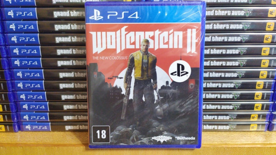 Wolfenstein 2 The New Colossus Ps4 Português Mídia Física