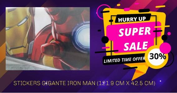 Vinilos Murales Iron Man Avengers Niño Juguete Regalo
