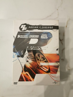 Rápido Y Furioso Coleccion Original Boxset