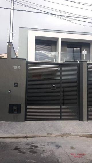 Sobrado Com 3 Suítes ( Uma Com Sacada ) À Venda, 110 M² Por R$ 530.000 - Vila Formosa - São Paulo/sp - So0187