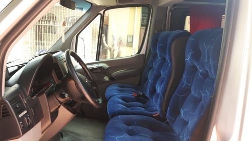Van Sprinter 415 2015 2016 Teto Alto Completa Cor Prata