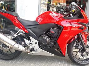 Honda Cbr500r Abs Impecable Estado Permutas Financiacion