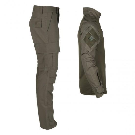 Conjunto Combat Shirt + Calça Combat Verde Oliva - Bélica